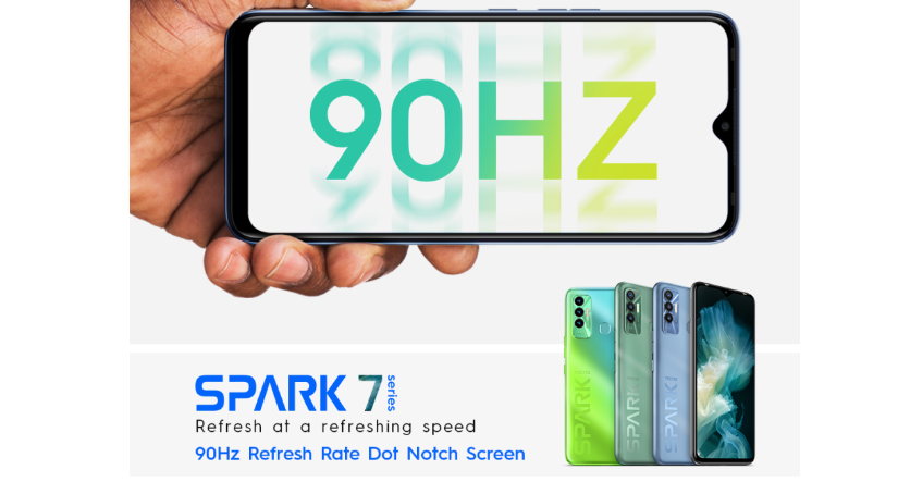 TECNO Spark 7P To Launch In Kenya Soon