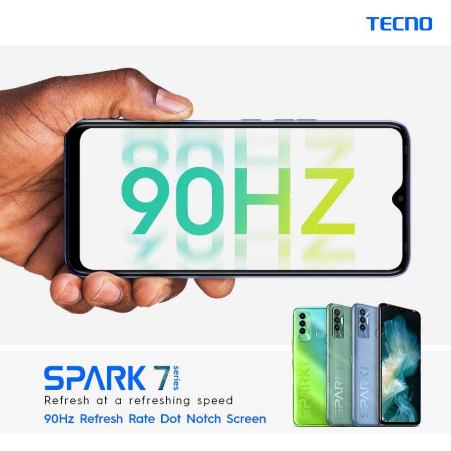 Tecno Spark 7P 90Hz refresh rate