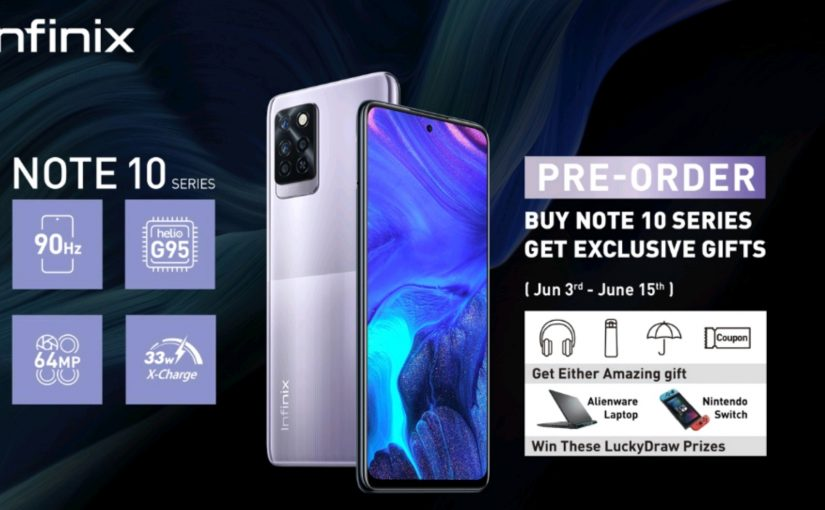 Infinix Note 10 Pro Is Now Available On Pre-Order