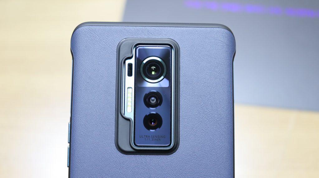 Rear camera setup on the tecno phantom x