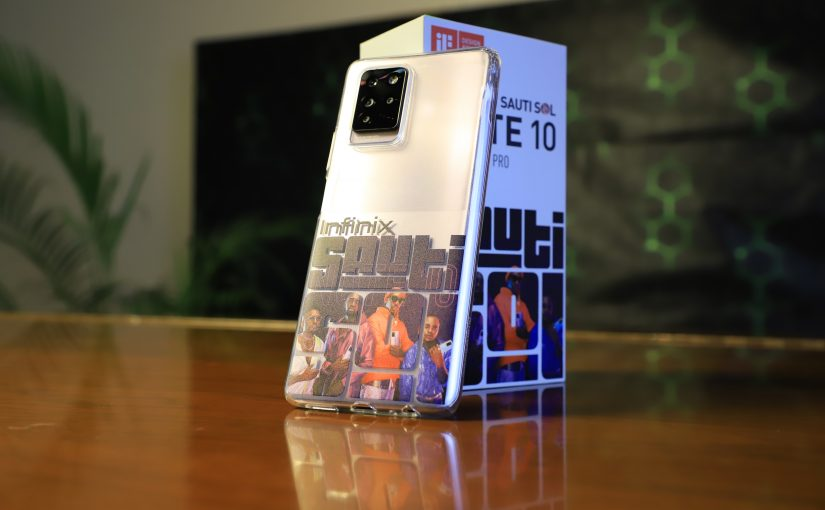 Infinix Announces Limited Edition Sauti Sol  Infinix Note 10 Pro Phone
